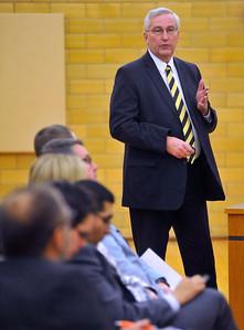 Harvard Superintendent Dr. Corey Tafoya