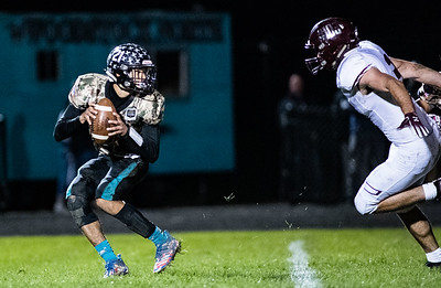 ISHA Football  - Marengo vs. Woodstock North High School, October 18, 2019.
