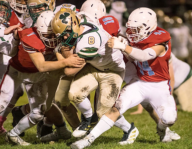 ISHA Football - St. Patrick vs. Marian Central Catholic High School, Oct. 25, 2019.