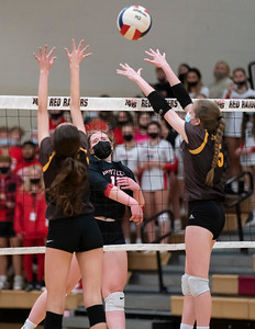 Huntley vs. Jacobs Girls Volleyball