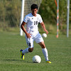 Kaneland's Diego Ochoa dribbles the ball during a game last month against Geneva.