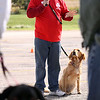 Jeff Krage – For the Kane County Chronicle<br /> Dog trainer Tony Clementi gives training tips during Saturday's dog festival at Lord of Life Church in LaFox. <br /> LaFox 9/22/12