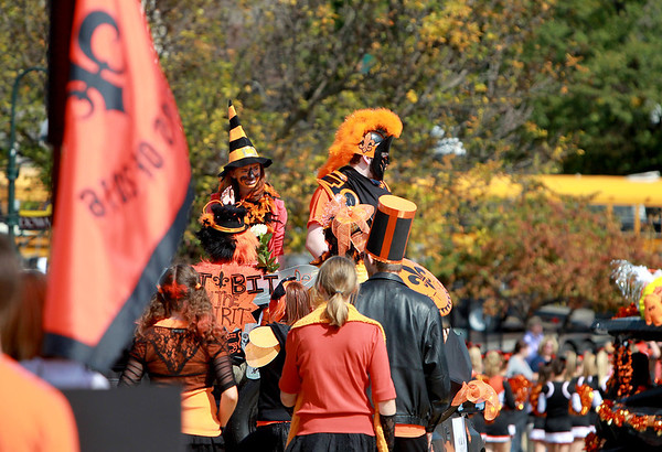 St. Charles East held their annual homecoming parade on Illinois Street Friday afternoon. (Sandy Bressner photo)