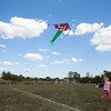 Four-year-old Alessandra Centimano, age 4, flies her mermaid kite during Genevas Park District's annual kite festival Saturday at Peck Farm. (Rena Naltsas photo for the Kane County Chronicle)