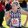 Jeff Krage – For the Kane County Chronicle<br /> Kaneland's Victoria Clinton runs in Saturday's Eddington Invitational at the Elburn Forest Preserve.<br /> Elburn 9/15/12