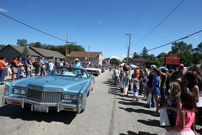 Sarah Nader - snader@shawmedia.com The Saufen und Spiel parade was held in Johnsburg on Sunday, September 9, 2012.
