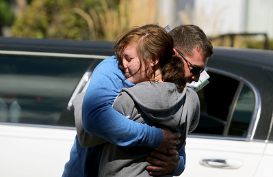 Sarah Nader - snader@shawmedia.com Army Sgt. Daniel Bacino hugs his sister, Emily Rubino, 14, of Huntley after returning home on Sunday, September 9, 2012. Bacino had been in the Army for the past four years and has served tour tours in both Iraq and Afghanistan.