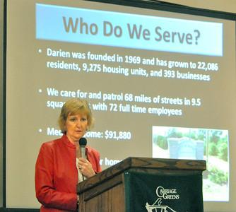 2013 Darien Town Hall meeting