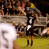 Kaneland quarterback Drew David throws a pass during their home game agains IC Catholic Prep Friday night.