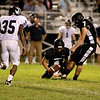 Kaneland's Matt Rodriguez kicks for an extra point during their home game against IC Catholic Prep Friday night in Maple Park.