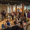 Artists and guests mingle at the Water Street Studios annual fundraiser at Water Street Studios in Batavia, IL on Saturday, September 07, 2013 (Sean King for Shaw Media)