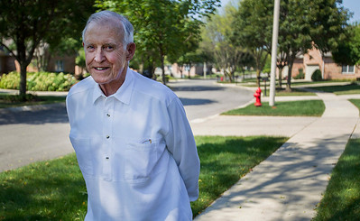 Kyle Grillot - kgrillot@shawmedia.com   Bob Brazier, former president of the Crystal Lake Chamber of Commerce has lived in Crystal Lake for more than 50 years and loves it's well kept neighborhoods.