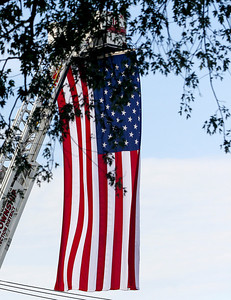Sarah Nader -  snader@shawmedia.com A commemoration was held at Veterans Memorial Park in McHenry Wednesday, September 11, 2013 to honor those lost in the Sept. 11 terrorist attacks.