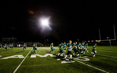 Kyle Grillot - kgrillot@shawmedia.com  The Grayslake team leaves the field after winning the game against Johnsburg Thursday, September 12, 2013. Johnsburg lost the game 21-28.