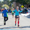 Claire Lemke 40, of Lakewood IL, was the first female to finish in The Fox Valley Last 20 Mile Marathon in St. Charles, IL on Sunday, September 22, 2013 (Sean King for Shaw Media)