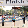 Eric Ott of Geneva, IL was the first male to finish the Fox Valley Half Marathon in St. Charles, IL on Sunday, September 22, 2013 (Sean King for Shaw Media)