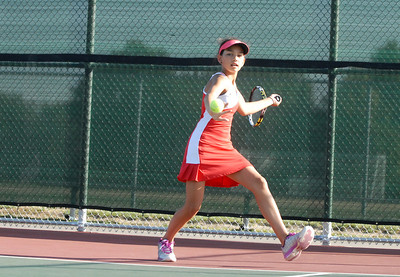 GN vs. GE girls tennis