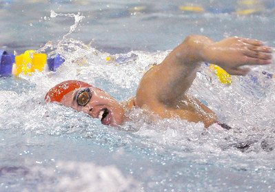 Hinsdale Central at Lyons Township girls swim-dive