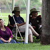 Jeff Krage – For Shaw Media<br /> People relax while enjoying Monday's Fox Valley Folk Music & Storytelling Festival at Island Park in Geneva.<br /> Geneva 9/1/14
