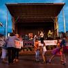 Festival of the Vine goers dance to Snake Oil Barons during Festival of the Vine in downtown Geneva on Friday, Sept. 5.
