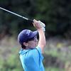 Jeff Krage – For Shaw Media<br /> Geneva's Alex Lensky watches one of his fairway shots during Wednesday's match against Batavia at the Fox Valley Golf Club in North Aurora.<br /> North Aurora 9/10/14