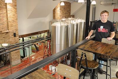 Pollyanna Brewing tasting room