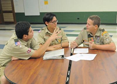 Scout Troop 56 readies carwash