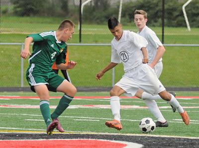 Waubonsie Valley at Glenbard East boys soccer