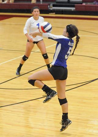 Riverside Brookfield at Wheaton Academy girls volleyball