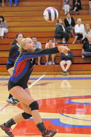 Wheaton Academy at Glenbard South girls volleyball