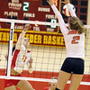 Batavia's Micaela Hix goes up for a kill during a match against visiting St. Charles East on Sept. 6.