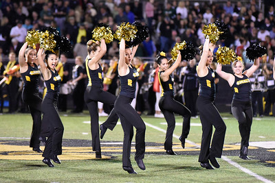 Hinsdale South Varsity Poms performs at halftime during the game against Glenbard West on Friday, September 2nd. Lorae Mundt for Shaw Media