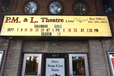 Candace H. Johnson-For Shaw Media The P.M.& L. Theatre advertises their latest show called, Calendar Girls by Tim Firth, with opening night on September 7th in Antioch. (9/4/18)