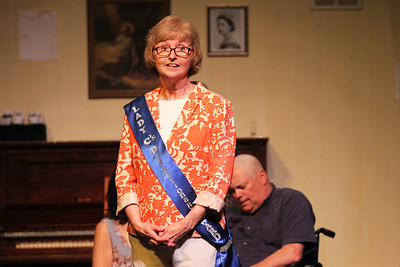 Candace H. Johnson-For Shaw Media Chris Heilgeist, of Bristol, Wis., (Chris) rehearses a scene during the dress rehearsal of Calendar Girls at  PM& L Theatre in Antioch. The show runs from September 7th-23rd on weekends. (9/4/18)
