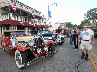 Candace H. Johnson-For Shaw Media A few Duesenbergs were on display during Wauconda Cruise Night on Main Street in Wauconda. (9/17/19)
