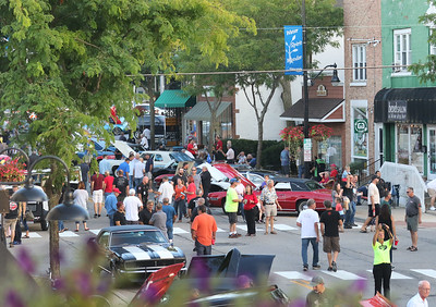 Candace H. Johnson-For Shaw Media Wauconda Cruise Night on Main Street in Wauconda. 650 cars were parked on Main Street and connecting streets. (9/17/19)
