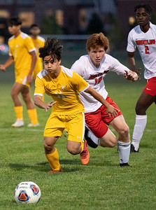 Jacobs vs. Huntley Boys Soccer
