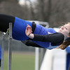 Geneva's Shannon Callahan competes in the high jump Saturday during the Mike VanDeveer Invitational at Geneva High School. (Jeff Krage photo for Shaw Media)