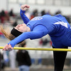Burlington Central's Katie Trupp competes in the high jump Saturday during the Mike VanDeveer Invitational at Geneva High School. (Jeff Krage photo for Shaw Media)