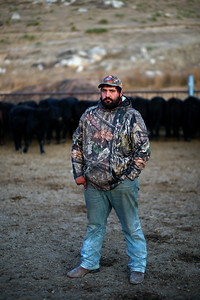 """I think the tariffs are a good thing because farmers have been buying grain from China for years. Buying from China brings down the price of grain and makes it harder for me to sell my crops."" Dominic Beyer has taken over responsibilities of maintaining the family farm including raising the 200 head of cattle and growing the hay and corn to feed them on Saturday, Nov. 2, 2019 in Sidney, NE."