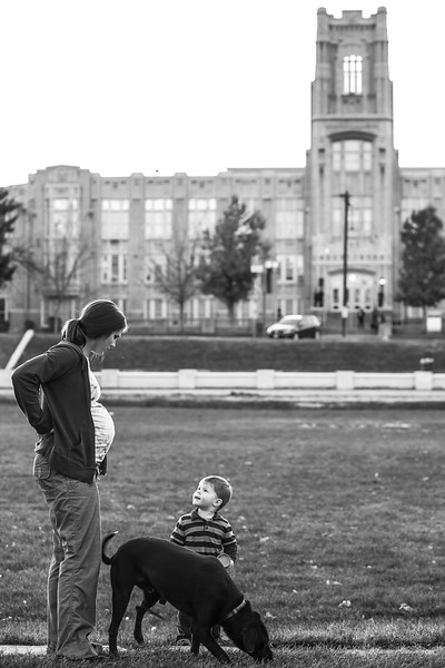 DENVER - When Lindsey's contractions started, instead of rushing to the hospital, she went for a walk with her 2-year old son and dog to help take her mind off of labor and to allow the birthing process to progress without intervention.  After having a traumatic labor that ended in an unplanned cesarean section with her first son's birth, Lindsey decides to plan a homebirth for her second child.