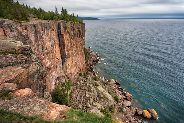 Cool day at Palisade Head