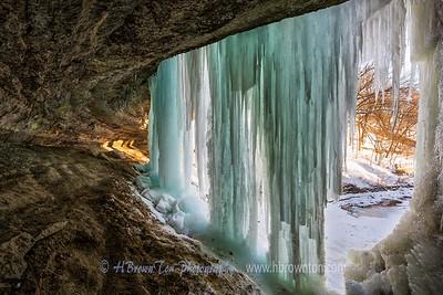 Ice Curtains Closing