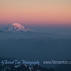 Mt. Adams at Dusk