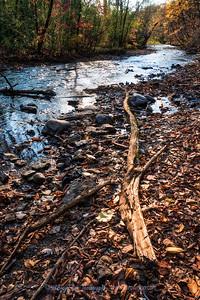 Points to Minnehaha Creek