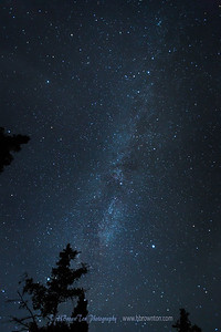 Milky Way over Northshore Lake Superior