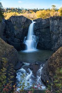 Pigeon River High Falls separating US & Canada