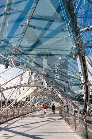 The Double Helix Bridge