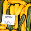 Chuck Knowles - Yellow and green Zucchini squash and sign