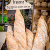 Chuck Knowles-Fresh bread and sign at th emarket